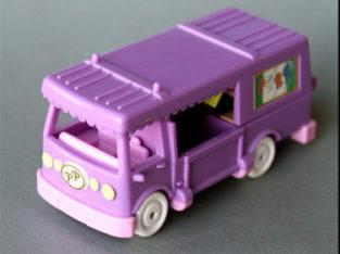 Van box des chevaux de Polly